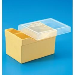 Caja PP gris p··recambio puntas c··tapa