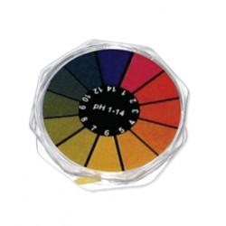 Papel pH 1-14, Rollo 5m