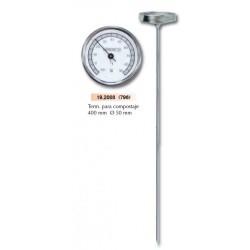 Termometro Compostaje Metalico 796