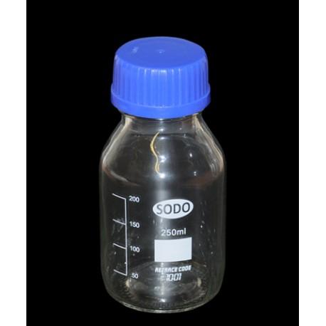 Frasco ECO ISO tapon azul, 1000ml