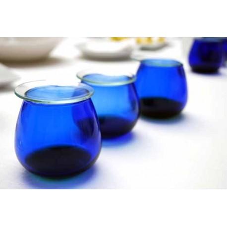 Vaso Cata de Aceites, Vidrio Azul