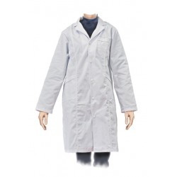 Bata Laboratorio Mujer XL Algodon
