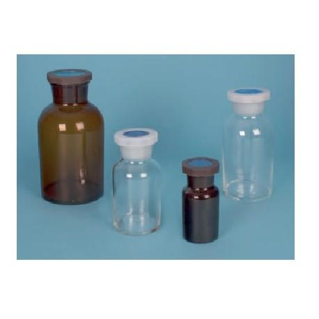 Frasco topacio t··plast b··ancha, 250 ml