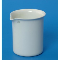 Vaso porc. f··baja, Ø 80 mm, 400 ml, JIPO